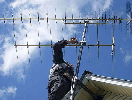 Подключение антенн цифрового ТВ в Кисловодске