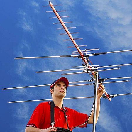 Установка ТВ антенны в частном доме в Ставрополе