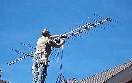 Настройка ТВ антенны в Изобильном