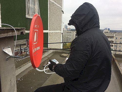 Ремонт спутниковых антенн МТС в Ставрополе